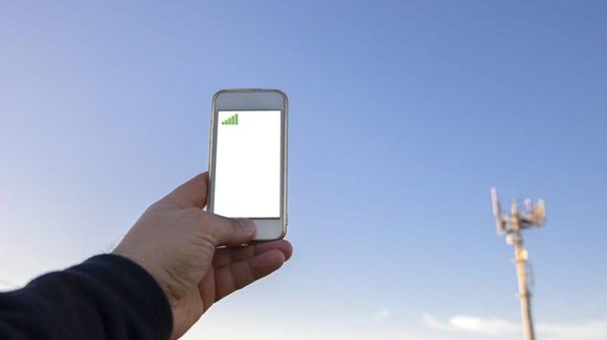 Расстояние до базовой станции GSM