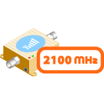 3G репитеры 2100 МГц